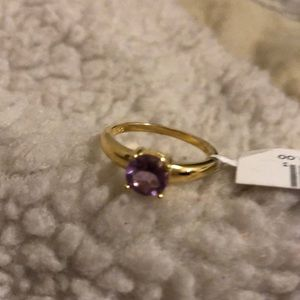 Jewelry - Amethyst Ring NWT. Size 7